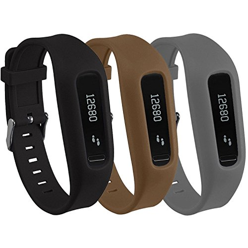 One Clasp (Buckle Bracelet for Fitbit One, Replacement Silicone Band with Chrome Watch Clasp and Fastener Buckle for Fitbit One)