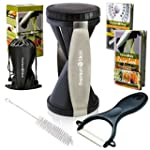Premium Vegetable Spiralizer Bundle -...