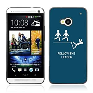 YOYOSHOP [Funny Follow The Leader ] HTC One M7 Case