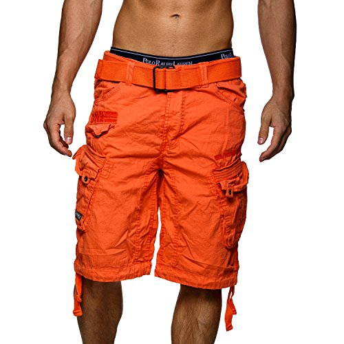 Shorts Orange Cargo Geographical Hommes People Norway w1Fp7qt