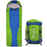 Cheap Forfar Envelope Outdoor Single Sleeping Bag Camping Travel Hiking Ultra-light Fleabag