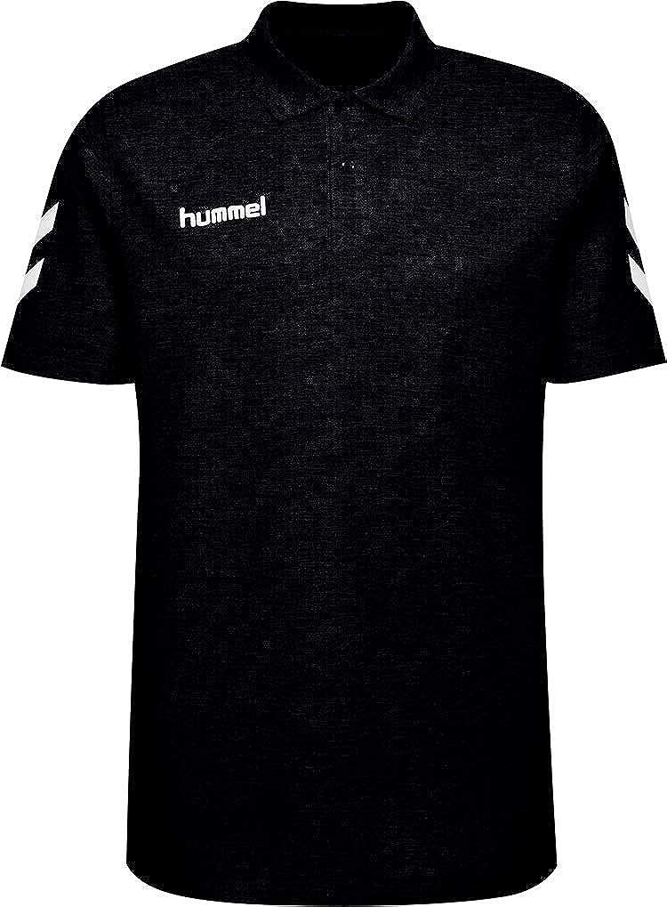 hummel HMLGO Cotton Polo, Hombre, Negro, XX-Large: Amazon.es: Ropa ...