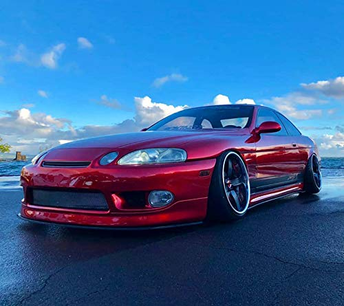 Lexus SC SC300 SC400 1992-2000 Aero Craft Style 4 Piece Polyurethane Full Body Kit (no crossbars) made by KBD Body Kits. Extremely Durable, Easy Installation, Guaranteed Fitment and Made in - 4 Kit Full Piece Body