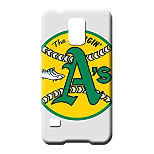 samsung galaxy s5 Extreme Bumper stylish phone cases covers oakland athletics mlb baseball