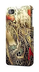 S0122 Yakuza Tattoo Case Cover for Iphone 4 4s WANGJING JINDA