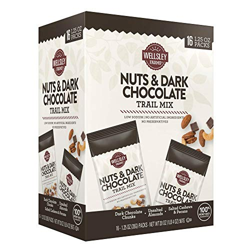 Wellsley farms nuts&dark chocolate trail mix