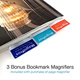 MagniPros Premium 3X (300%) Page Magnifying Lens