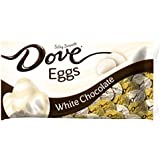 DOVE Easter White Chocolate Candy Eggs 7.94-Ounce Bag