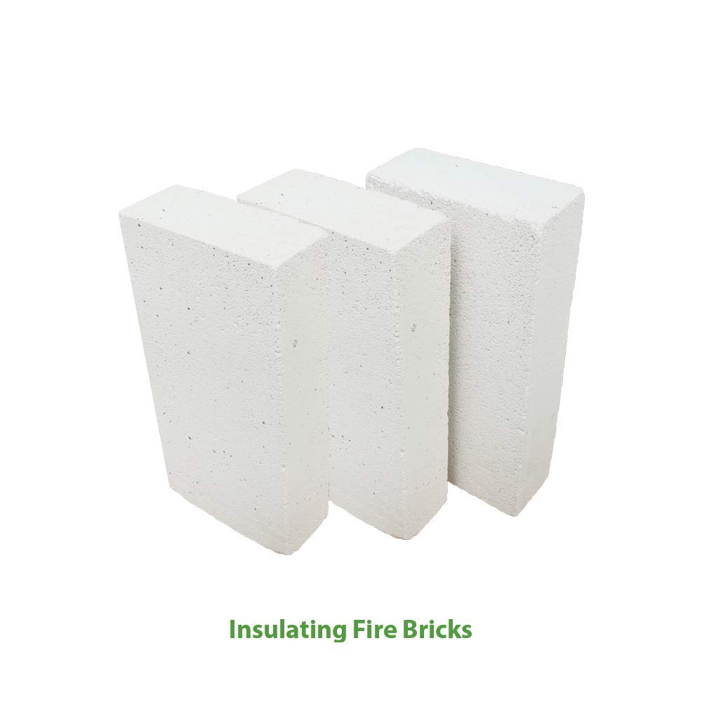 Insulating FireBrick 9 x 4.5 x 1.5 IFB 2500F Set of 5 Fire Brick for Pizza Ovens, Kilns, Fireplaces, Forges Simond Fibertech Limited