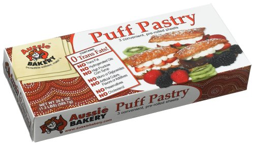 Aussie Bakery, Frozen, Pastry Puff, 17.3 Ounce