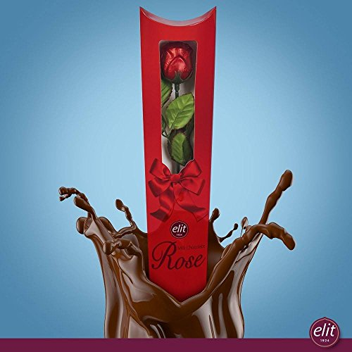 Elit Chocolate - Milk Chocolate Rose, Longest Stemmed (20