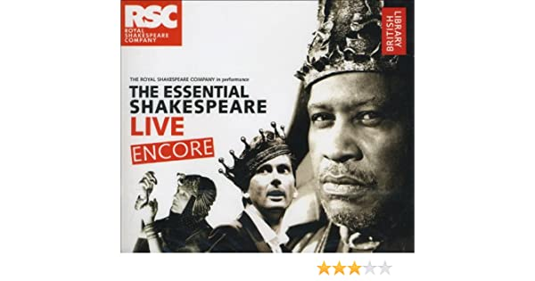 Amazon the essential shakespeare live encore 9780712351003 amazon the essential shakespeare live encore 9780712351003 the british library books fandeluxe Images