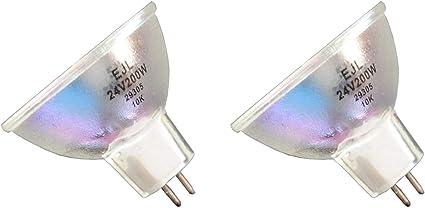 Prismetics Philips Bulb RM 2pcs York System EJL 315085 24V 1600 200W PR1 Lite for 13164 Viewlex Caulk 114 16 Dentsply 644101 Super Donar Prisma PZwOXTukli