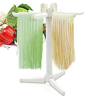 VDOMUS Collapsible Pasta Drying Rack Spaghetti Dryer Stand Noodles Drying Holder Hanging Rack