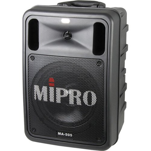 Mipro Portable Pa System (MIPRO MA-505PAB (5A) Portable Bluetooth-Enabled Wireless PA System)