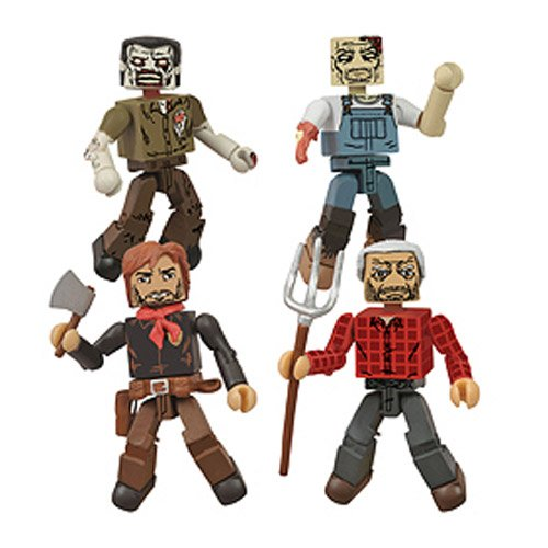 DIAMOND SELECT TOYS San Diego Comic-Con 2013 The Walking Dead Hershel's Farm Minimates Box Set]()