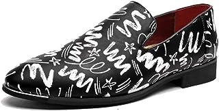2018 Chaussures Oxford pour Hommes, Chaussures Formelles de Style Chinois, Dentelle et Dentelle Casual (Couleur: Noir, Taille: 43 EU) (coloré : comme montré, Taille : Taille Unique)