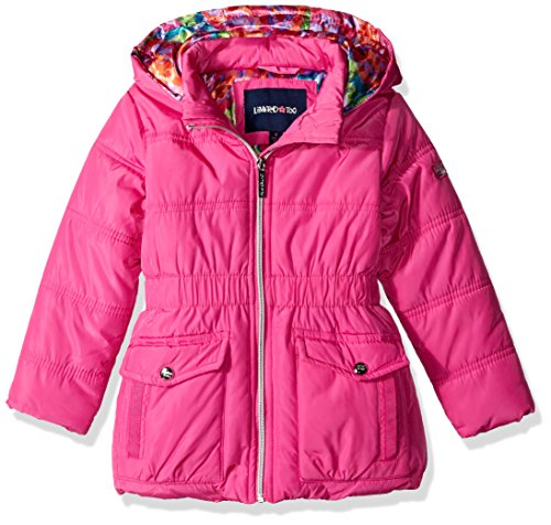 Limited Too Little Girls' Memory Puffer W Printed Lining, Pink, 4