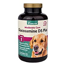 NaturVet Glucosamine DS with MSM 120 Tablets