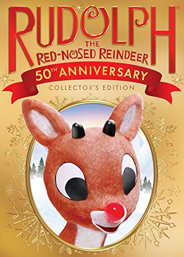 Book Cover: Rudolph the Red Nosed Reindeer: 50th Anniversary
