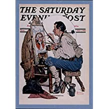1995 Norman Rockwell Two The Saturday Evening Post #13 The Old Sign Painter - NM-MT
