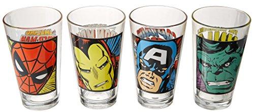 marvel pint glasses - 3