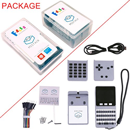 MakerFocus ESP32 Open Source Faces Pocket Computer with Keyboard/Gameboy/Calculator M5Stack Board Built-in 650mAh Battery for MicroPYTHON Arduino by MakerFocus (Image #8)