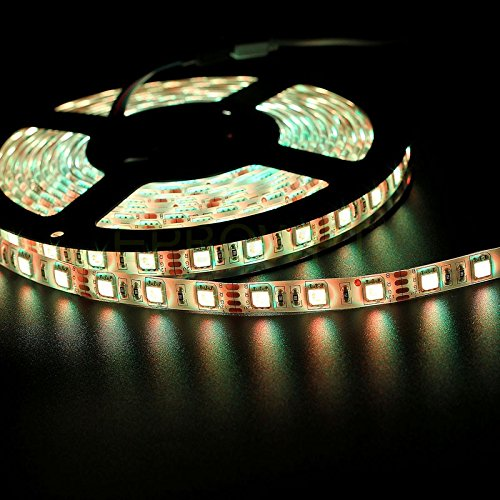 Ltd. RUICAIKUN 10M LED Light Strips Waterproof Flexible RGB SMD5050 150 LED Strips Kit with Remote and 12V Power Supply,RGB Strip for Party Holiday Home and Outdoor Xin Yang Chuangyi Electronic Co