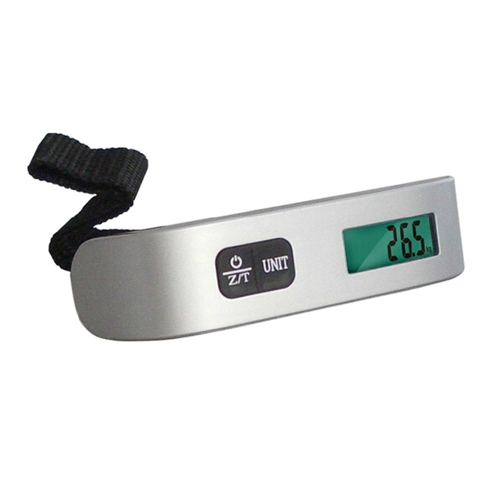 Smart Weigh 50kg//110LB Portable Luggage Scale Travel Hanging Scale,F