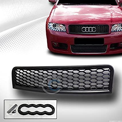 Amazon com: VXMOTOR for Audi 2002-2005 A4 S4 B6 - Black