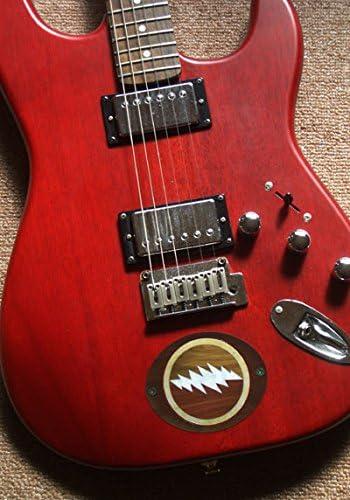 Lightning Bolt Inlay Sticker Decal For Guitar Grateful Dead Jerry Garcias