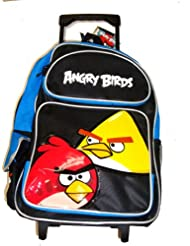 Angry Birds Large Rolling Backppack 16
