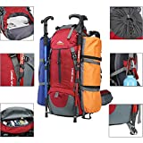 0730cd1bf94e Galleon - Seenlast 50L Unisex Travel Hiking Backpack Outdoor Sport ...