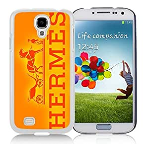 Fahionable Custom Designed Samsung Galaxy S4 I9500 i337 M919 i545 r970 l720 Cover Case With Hermes 25 White Phone Case