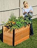 Gardener's Supply Company 2x4 Elevated Cedar Raised Bed