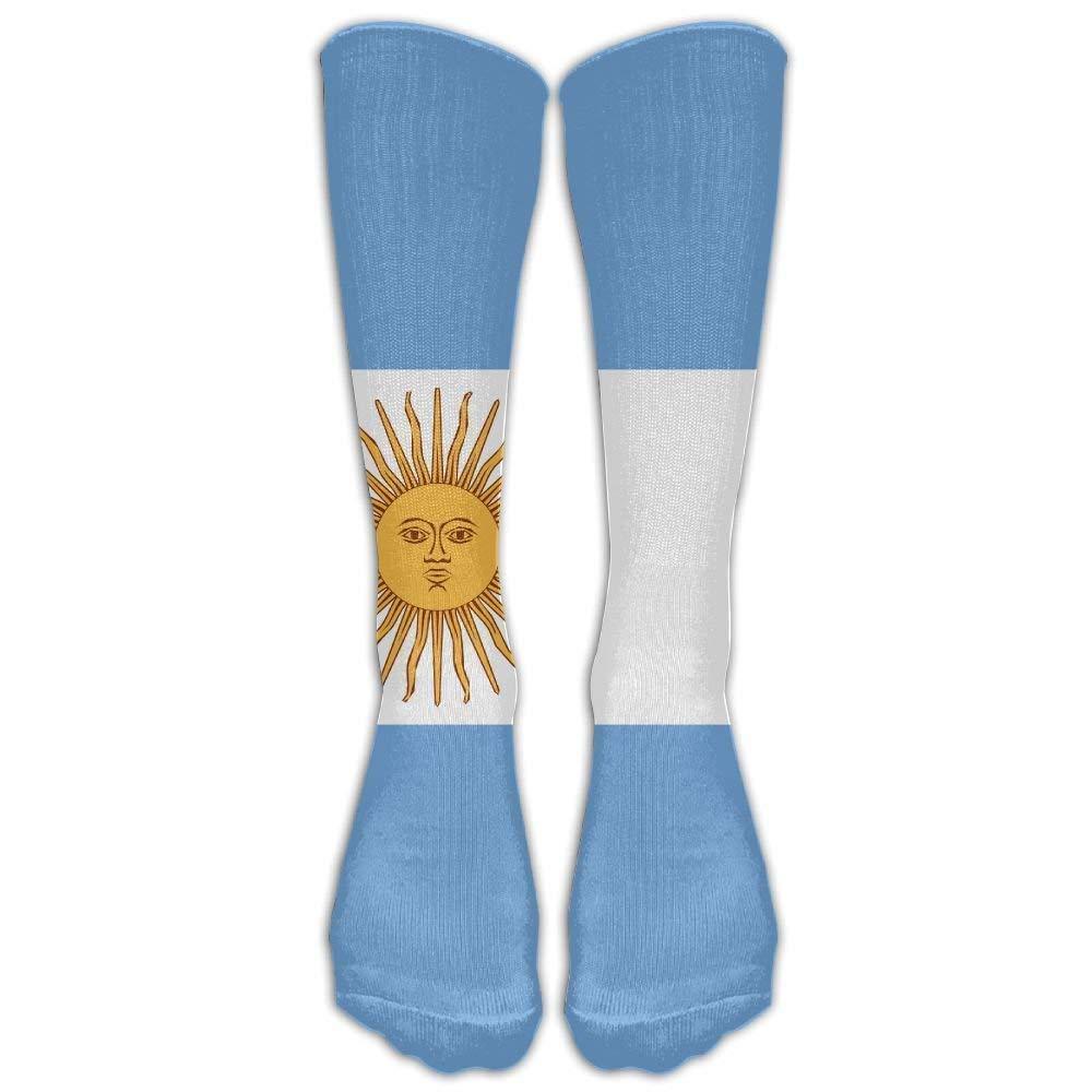 Amazon.com: Womens Athletic Knee Socks Argentina Flag Compression Soccer Splints Cool Tube Stockings for Running,Medical,Edema,Diabetic,Varicose Veins: ...