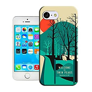 Haoyucase iphone 5C case Twin Peaks Famous art pattern best durble and popular iphone 5C case cover