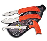 Outdoor Edge WildGuide, 4-Piece Hunting Knife/Saw