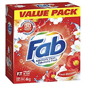 Fab Laundry Powder, Sunshine Fresh, 4Kg
