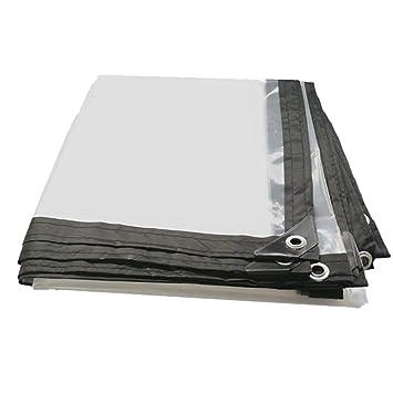 AJZGF Exterior Lona Impermeable Transparente Cubierta de Lona con Revestimiento de Piso Perforado cobertizo (Color : A, Tamaño : 1×1m): Amazon.es: Deportes ...