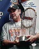 Bruce Bochy Autographed San Francisco Giants 2012 World Series 8x10 Photo