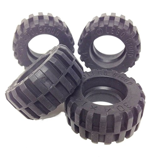 Lego-Parts-Tire-304mm-x-14mm-Offset-Tread-Service-Pack-of-4