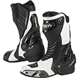 Cortech Latigo Air Men's Street Bike Motorcycle Boots - White/Black / Size 9