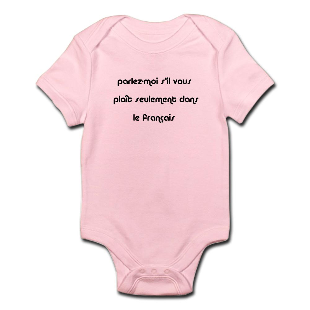 CafePress - French - Cute Infant Bodysuit Baby Romper