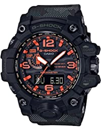 amazon com 50mm over wrist watches watches clothing shoes casio g shock maharishi x mudmaster gwg 1000mh 1ajr mens import