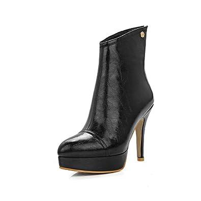 Ladies Platform Winkle Pinker Stiletto Microfiber Boots