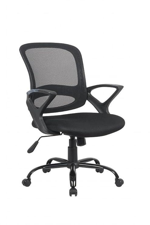 amazon com ergonomic mesh computer office desk midback task chair w