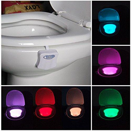 Toilet Night Light -Light Bowl - Glow Bowl Illumibowl - Toilet Potty Kit - Face Frames Oblong For