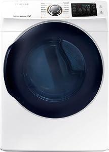 Samsung DV45K6200EW DV45K6200EW 7.5 Cu. Ft. Electric White Front Load Steam Dryer