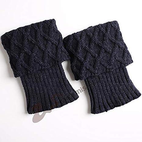 Arbre Calcetines de niñas Calzados de Mujer cálidos Botas de Lana de Punto para Mujer,